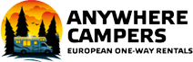 Anywhere Campers Campervan hire - Auto Europe